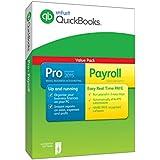 QuickBooks Pro 2015 Plus Payroll - 1 Year Subscription (PC)