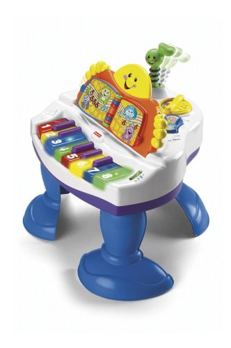 Fisher-Price Interactive Baby Grand Piano - 1