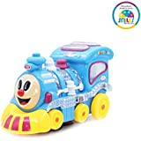 Smiles Creation Wonderful Music With Bright Lights And Lovely Shape Train Engine Toy For Kids