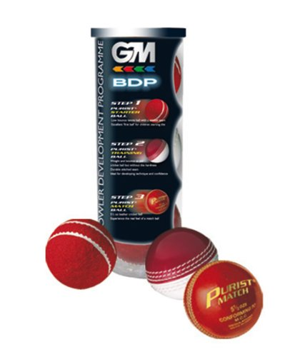GM Bowling Development Programme 3 Cricket Ball Pack