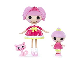 Lalaloopsy Mini Littles Doll, Jewel Sparkles/Trinket Sparkles