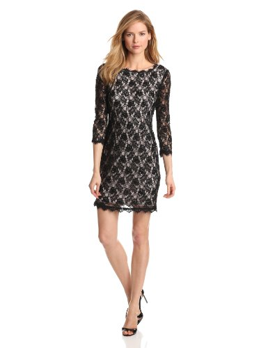 Adrianna Papell Womens Sleeve Beaded