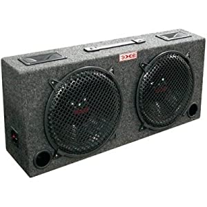 XXX kic120 Xxx kic120 (2) Dual 12 Car Audio Subwoofer Sub Box W/ 5 Tweeters