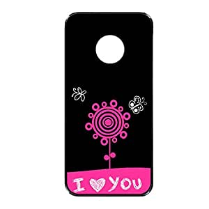 Vibhar printed case back cover for Nexus 6 LovePinkFlower