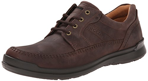 ECCO Men's Howell Moc Tie Oxford, Mocha, 45 EU/11-11.5 M US (Ecco Shoes compare prices)