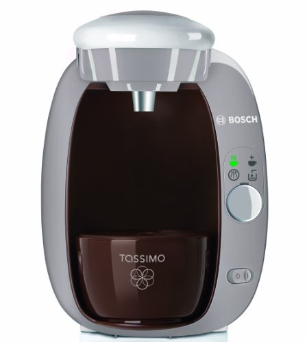 Bosch Tassimo T20 Beverage System and Coffee Brewer with Pack of T Discs, Hazelnut Brown