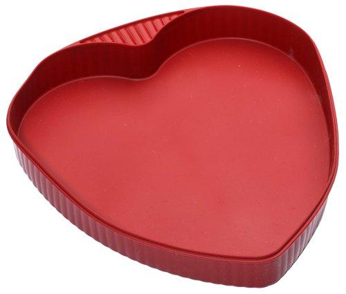 Roshco Silicone Heart Pan, Red - Buy Roshco Silicone Heart Pan, Red - Purchase Roshco Silicone Heart Pan, Red (Roshco, Home & Garden, Categories, Kitchen & Dining, Cookware & Baking, Baking, Cake Pans, Seasonal & Novelty Cake Pans)