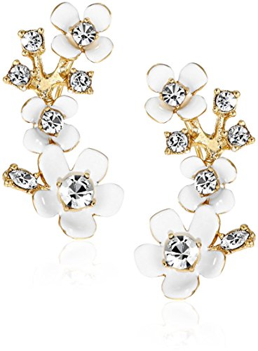 kate spade new york Pretty Petals Ear-Pin Earrings