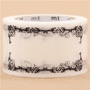 Cinta adhesiva decorativa washi de mt marca etiqueta   más información y revisión