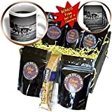41A1L5jKKSL. SL160  Krista Funk Creations Sled Dogs   Yukon Quest Sled Dogs on the Takhini River Black and White   Coffee Gift Baskets   Coffee Gift Basket
