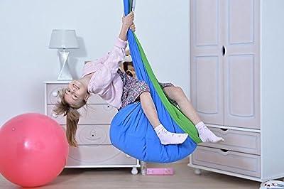 Hängehöhle LOLI KIDS Kinder Hängesessel Hängesitz delfino-GRÖßE PLUS! von Lola Hängematten auf Gartenmöbel von Du und Dein Garten