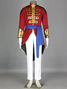 CTMWEB Code Geass Cosplay Costume - Gilbert G.P Guilford Uniform Kids Small