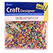 10/0 Rocaille Seed Beads, Multi Pearl, 100 Gram Pkg.