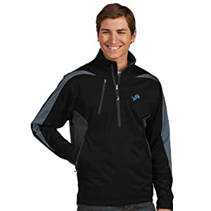 NFL Detroit Lions Men's Discover Jacket, Black/Smoke/Steel, Medium