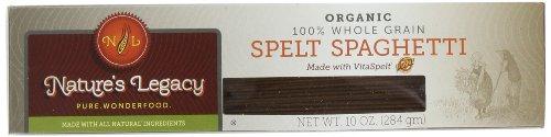 VitaSpelt Organic Spaghetti Whole Grain Spelt Pasta, 10-Ounce Boxes (Pack of 12) (Pasta Spaghetti Box compare prices)