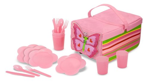 Lowest Prices! Melissa & Doug Sunny Patch Bella Butterfly Picnic Set
