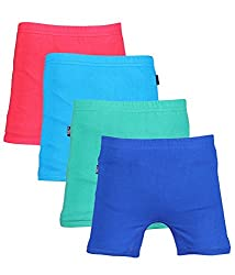White Moon Kids Shorts - Pack of 4