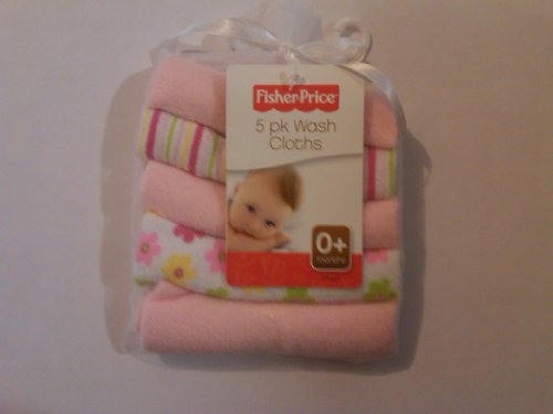 Fisher-price Washcloths - Girls 5 Pack