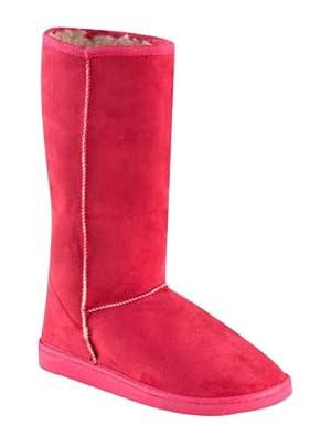 Faux Fur Boots Fuchsia 3 (2.99)