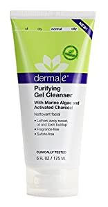 Derma E Purifying Gel Cleanser, 6 Fluid Ounce