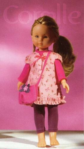Les Cheries Flowered Smock Set _ Corolle - Buy Les Cheries Flowered Smock Set _ Corolle - Purchase Les Cheries Flowered Smock Set _ Corolle (Corolle, Toys & Games,Categories,Dolls,Baby Dolls)