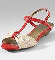 vegan low wedge sandals
