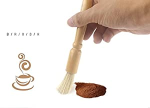 Coffee Grinder Cleaning Brush and Scoop