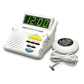 Sonic Alert  SB1000ss Sonic Boom Loud Vibrating Alarm Clock with Built In Receiver