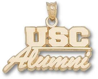 South Carolina Gamecocks USC Alumni Pendant - 14KT Gold Jewelry by Logo Art