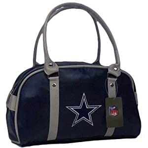 Nfl Dallas Cowboys Blue Purse Handbag Women Ladies Simil