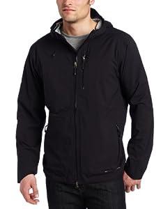 ExOfficio Men's Rain Logic Jacket,Black,XX-Large