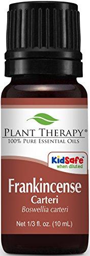 Frankincense carteri Essential Oil. 10 ml (1/3 oz). 100% Pure, Undiluted, Therapeutic Grade