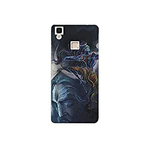 Vivo v3 max nkt11_R (46) Mobile Case by Mott2 - Lord Shiva