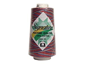 Signature 100% Cotton Quilting Thread 3000yd Variegated Stars & Stripes