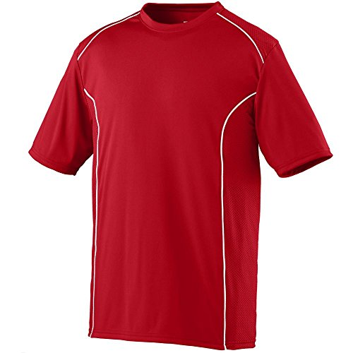 BOYS' WINNING STREAK CREW Augusta Sportswear M Red/White