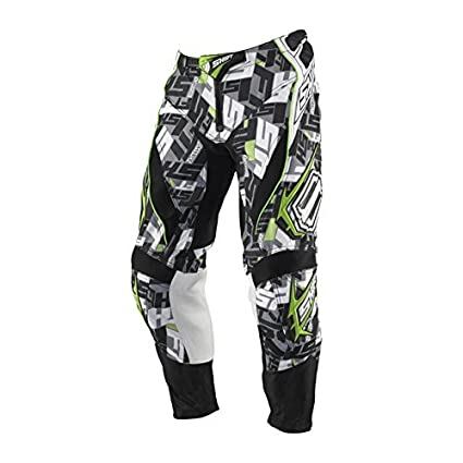 Shift Pantalon De Motocross - Combattant - Marquer - vert