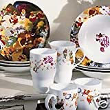 Disney Store Alice in Wonderland Porcelain Dinnerware Set