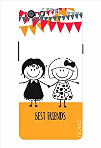 Noise Best Friends Printed Cover for Oppo R1C