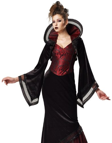 HGM International Sexy Goth Vampire Dracula Adult Halloween Costume