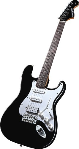 Starcaster 284001112 Electric Guitar Pack (Black)