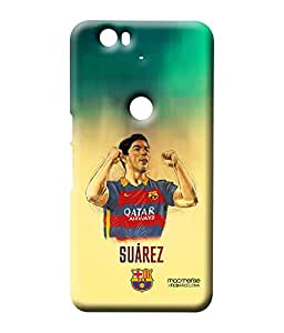 Illustrated Suarez - Sublime Case for Huawei Nexus 6P