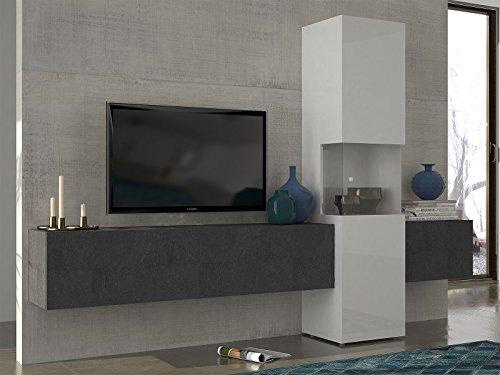 Wohnwand-Mediawand-Wohnzimmerschrank-Fernsehschrank-TV-Schrank-Incontro-I