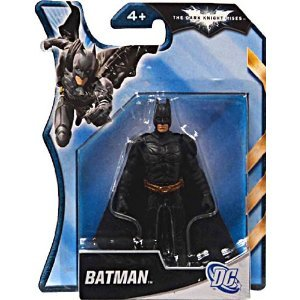Batman Dark Knight Rises 4 Inch Action Figure Black Armor Batman