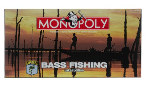 "Bass Fishing ""Lakes"" Edition of Monopoly"