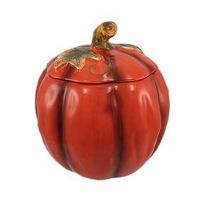 Ceramic Pumpkin Cookie Jar