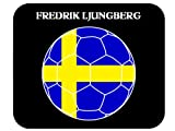 Fredrik Ljungberg (Sweden) Soccer Mouse Pad