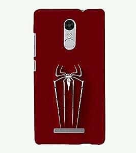 PRINTSOPPII Logo Back Case Cover for Xiaomi Redmi Note 3::Redmi Note 3