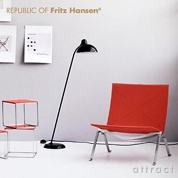 Fritz Hansen フリッツハンセン Christian Dell クリスチャン・デル KAISER idell カイザー・イデル フロアランプ チルト機能付き 6556-F Super (ブラック)