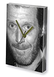 JASON FLEMYNG - Canvas Clock (LARGE A3 - Signed by the Artist) #js001