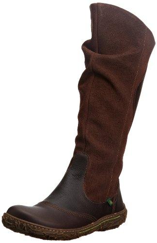 El Naturalista Womens Nido Brown Boots N719 9 UK, 42 EU